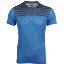 Maillots de fitness bleus adidas pour homme