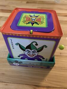 SDCC 2020 EXCLUSIVE The Joker Jack-in-the-Box (NIB) New In Box - 2885/6148
