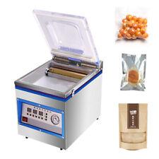 360w Digital Vacuum Sealer 18 Liter Commercial Kitchen Food Chamber Tabletop Us