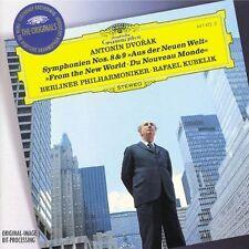 Dvorak-Sinfonie NOS. 8 & 9 del nuovo mondo Rafael Kubelik NUOVO