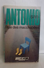 San-Antonio Rue des macchabées FN 1987