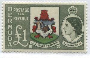 Bermuda 1953 QEII £1 used