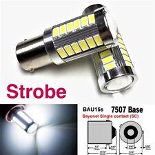 Strobe 7507 BAU15S PY21W 33 LED Projector White Bulb Front Signal #12 B1