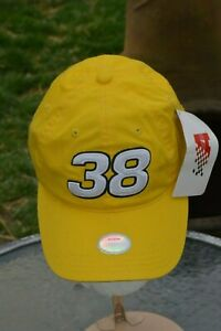 Chase Authentics Nascar Hat Cap YELLOW One Size M&Ms #38 Eliot Sadler New Tags