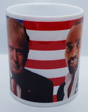 Donald Trump Jesse Lee Peterson The Great White Hope The Great Black Hope MUG