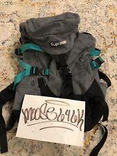 Supreme Backpack Ss09 23rd Gen Vintage Bogo Grey Teal Rare