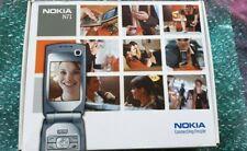 Nokia N71 (Unlocked) Mobile Phone Grey Boxed
