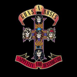 Guns n Roses Appetitite for Destruction Album Cover Fridhe Magnet 58mm x 58mm