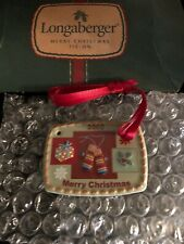 Longaberger 2002 Christmas Traditions Basket Tie-On