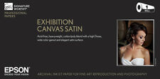 "Epson Exhibition Canvas Satin Inkjet Photo Paper 13"" x 20' Roll S045248"