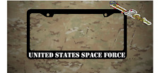 UNITED STATES SPACE FORCE Plastic License Plate Frame Holder Decal Sticker