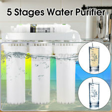 5 Stage Home Drinking Water Filter Purifier Ultra-filtration Hollow Fiber System