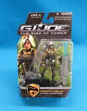 GI Joe The Rise of Cobra Agent Helix Figure 2009 Hasbro New on Card