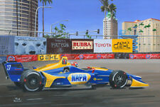 Print canvas Dallara Honda Indy Car 2018 #27 Alexander Rossi (USA) Nagtegaal