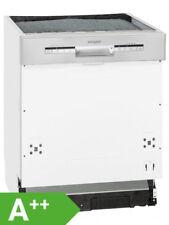 Exquisit EGSP 1012 E/B Einbau Geschirrspüler EEK A++ Spülmaschine teilintegriert