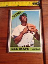 1966 Topps Lee Maye Blank Back Baseball Card Vault Production Houston Astros