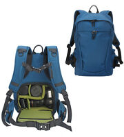 Large Waterproof SLR DSLR Camera Bag Travel Backpack 15'' Laptop Rucksack
