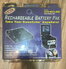 New Sealed Nintendo Intec Gamecube Rechargeable Battery Pak Black Color