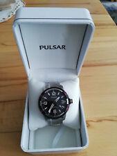 Top Armbanduhr Herren Pulsar PS9475X1 Silber Gliederarmband Analog Quarzuhr