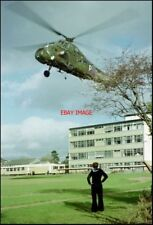 PHOTO  A HELICOPTER DISPLAY AT STANWELL SCHOOL PENARTH. ALL OF THE BUILDINGS SEE