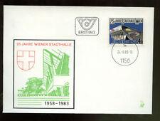 Austria 1983 Vienna City Hall FDC #226