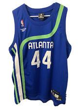 Atlanta Hawks NBA Pistol Pete Maravich Reebok Authentic Hardwood Jersey Men's XL