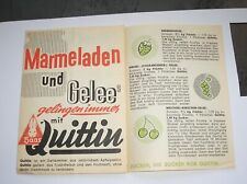 ED.HAAS -PEZ-Hersteller Heft Rezepte Werbung