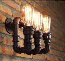 Lampe Murale 3 AMPOULE conduite d'EAU (21 jour Livraison) rétro vintage E27