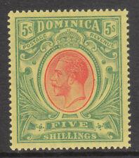 DOMINICA 1908 1914 #54 MINT GV STAMP wmk MCA