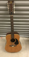 Vintage 1970s Signet By Selmer Acoustic Guitar 12 String Rare Japan Poor Parts