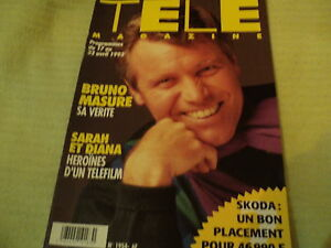 """TELE MAGAZINE N°1954 - 1993"" Bruno MASURE, Jodie FOSTER, Kirk DOUGLAS"