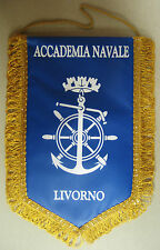 """Gagliardetto """"ACCADEMIA NAVALE LIVORNO"""" - Marina Militare - (Rarità)"""