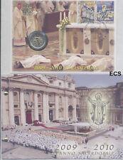 VATICAN 2010 euro commémorative Priest OFFICIEL TIMBRE NUMISMATIQUE