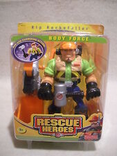 Rescue Heroes  Body Force Rip Rockefeller Constructon Worker Factory Sealed!