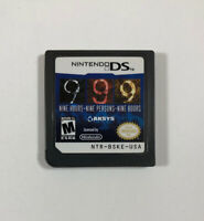 9 Hours 9 Persons 9 Doors (Nintendo DS, 2009) 999 - Fast Free Shipping