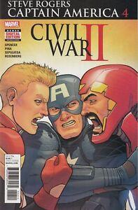 Steve Rogers Captain America #4 Main Cover New/Unread
