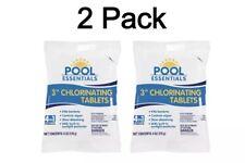 (2) Pool Essentials Chlorinating Tablets 6 oz Each - 2 Individual Packs