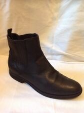 ROCKPORT Black Ankle Leather Boots Size 6