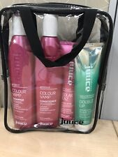 JUUCE Quad Pack Colour Vamp Shampoo & Conditioner 345ml + 2x Styling products