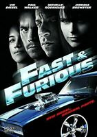 , Fast & Furious [DVD], Like New, DVD