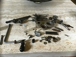 WIND-UP GRAMOPHONE PARTS INCLUDING WINDING HANDLE ETC.