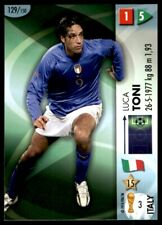 Panini World Cup 2006 Card - Toni Italy (Forwards) No. 129
