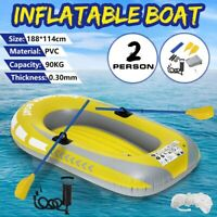 Inflatable Rubber Boat Kayak cold and heat resistant 2 Person Boat