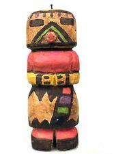 Arts Tribaux Arts Premiers - Poupée Style Kachina - Amérique du Nord - 24,5 Cms