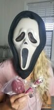 MASK HALLOWEEN COSTUME ADJUST Original Scream Blood Pump Solid Unisex Adult NWOT