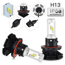 For Jeep Compass 2007-2010 H13 Headlight Hi/Low Beam LED 3 Color 9008 2x Bulbs
