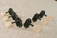VINTAGE STYLE KEYSTONE TUNING PEGS 3L3R BLACK FOR GIBSON LES PAUL EPIPHONE