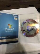 Microsoft Windows 7 Professional For Refurbished PCs Service pack 3 NO KEY
