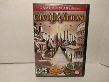Civilization IV PC Game Of The Year Edition CD ROM Sealed in Plastic
