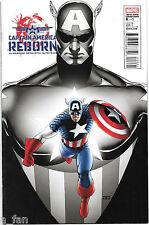 Reborn #  6 B Captain America March 201l0 Brubaker / Hitch - Cassaday Variant. 1